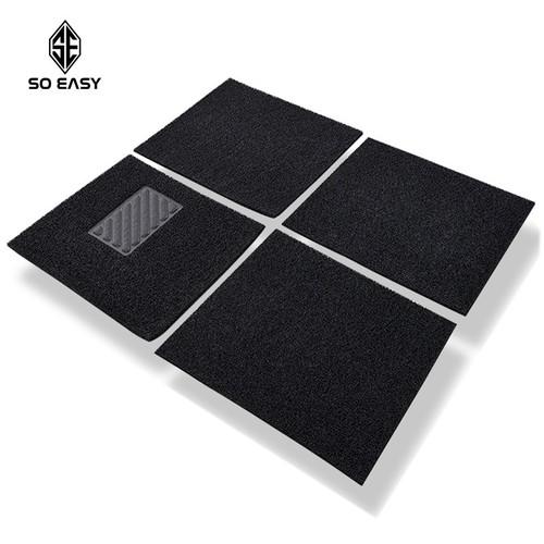 Bộ 04 tấm thảm lót sàn nhựa DIY sợi nhựa tổng hợp 6D, lót chân giấu bụi siêu sạch, chống thấm nước, chống trơn trượt cao cấp cho ô tô, xe hơi 4 -5 chỗ - 4780810 , 18035853 , 15_18035853 , 439000 , Bo-04-tam-tham-lot-san-nhua-DIY-soi-nhua-tong-hop-6D-lot-chan-giau-bui-sieu-sach-chong-tham-nuoc-chong-tron-truot-cao-cap-cho-o-to-xe-hoi-4-5-cho-15_18035853 , sendo.vn , Bộ 04 tấm thảm lót sàn nhựa DIY sợi