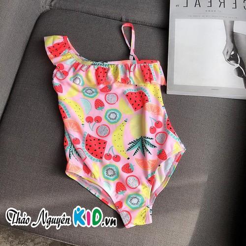 Áo tắm Bikini một mảnh in hình trái cây cho bé gái