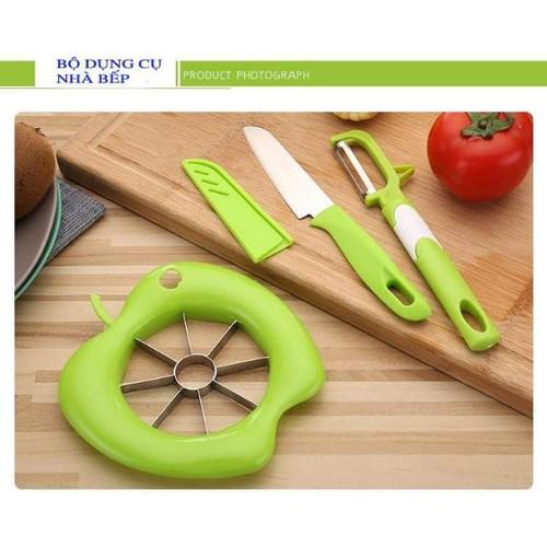 bộ cắt trái cây quả táo