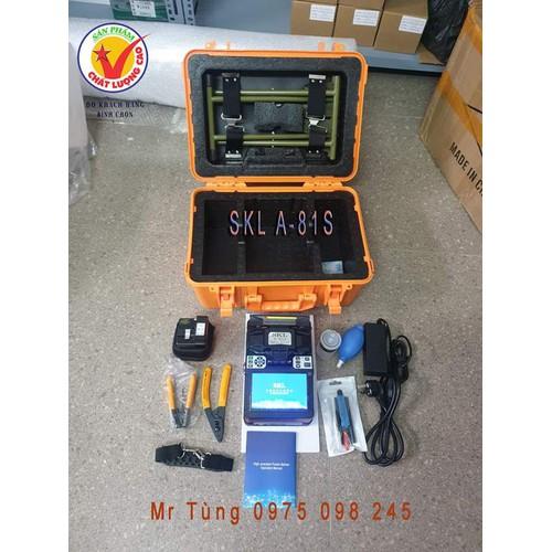 Bộ máy hàn cáp quang SKl  - A81S  chính hãng - 8871827 , 18030773 , 15_18030773 , 19900000 , Bo-may-han-cap-quang-SKl-A81S-chinh-hang-15_18030773 , sendo.vn , Bộ máy hàn cáp quang SKl  - A81S  chính hãng
