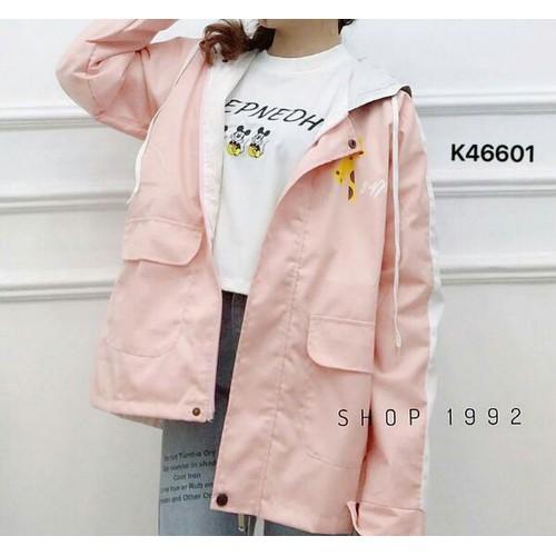 Áo khoác dù nữ K466