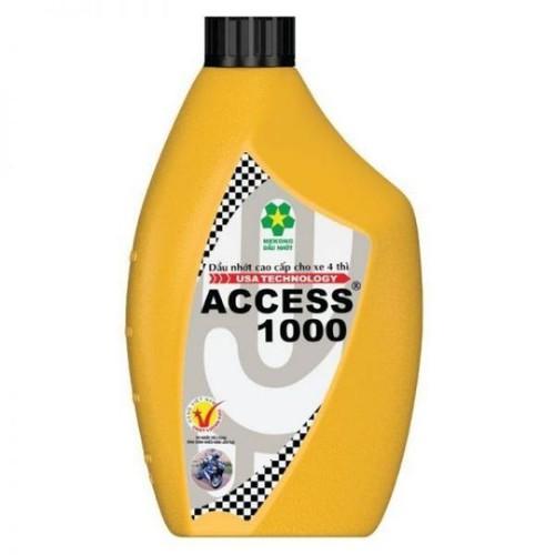 Dầu nhớt ACCESS1000 1lít chuyên dùng cho xe số xe Drem