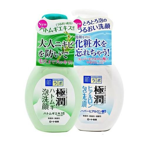 Sữa rửa mặtHadalabotạo bọt _nội địa Nhật