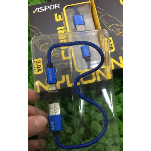 cáp sạc iPhone A175 aspor