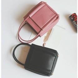 Túi Đeo Chéo Nữ Fashion 3 Màu ĐEN HỒNG GHI