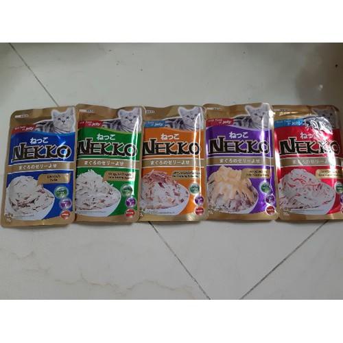 Thức ăn mèo Pate Nekko