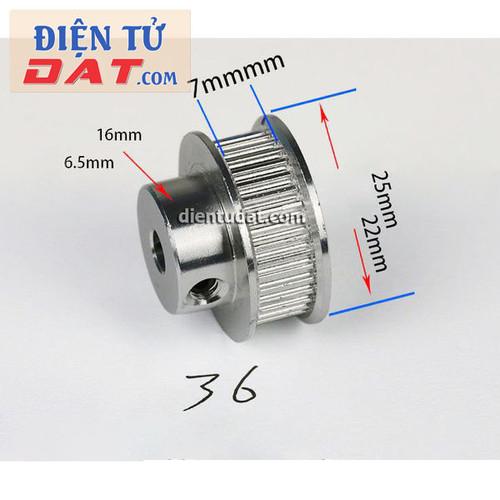 Bánh răng motor Pulley GT2 - 36 răng 5mm