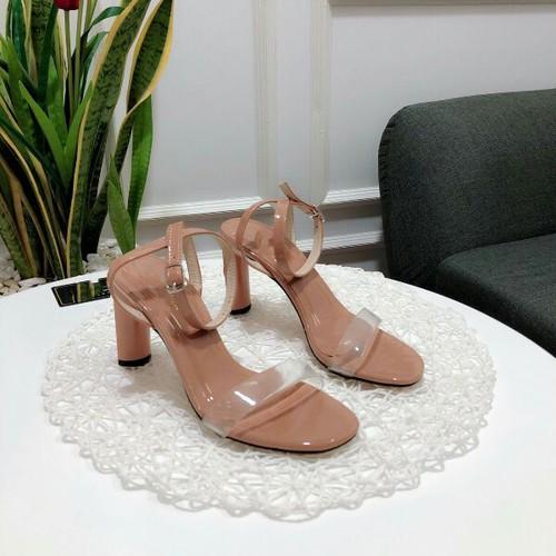 giày sandal gót hoa