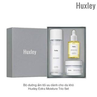 Bộ dưỡng ẩm tối ưu dành cho da khô Huxley Extra Moisture Trio Set - BD10 thumbnail