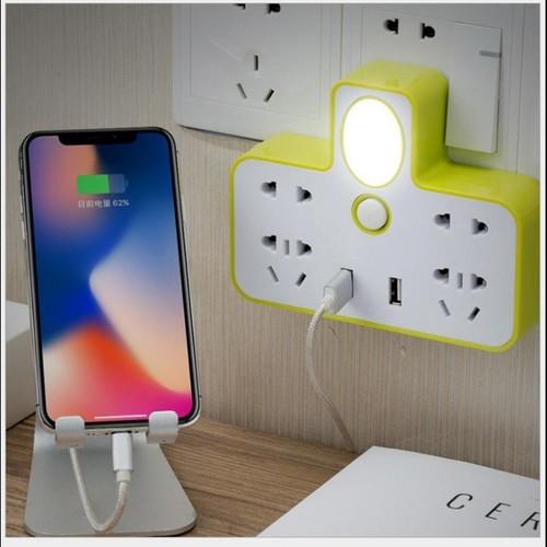 Ổ cắm điện đa năng kiêm đèn ngủ có usb sạc điên thoải rất tiện. có màu xanh, cam, hồng - 8867782 , 18024620 , 15_18024620 , 100000 , O-cam-dien-da-nang-kiem-den-ngu-co-usb-sac-dien-thoai-rat-tien.-co-mau-xanh-cam-hong-15_18024620 , sendo.vn , Ổ cắm điện đa năng kiêm đèn ngủ có usb sạc điên thoải rất tiện. có màu xanh, cam, hồng