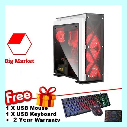 Thùng CPU chơi Game cao cấp Core I3 3220, Ram 12GB, SSD 120GB, HDD 3TB, VGA GTX750ti 2GB VMJGA3+ Quà Tặng