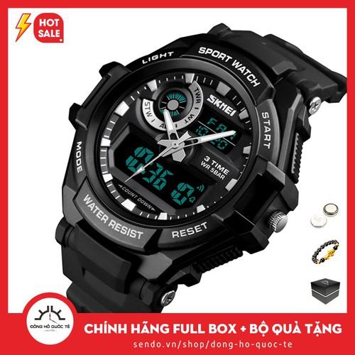 Đồng hồ nam SKMEI SKM357 điện tử cá tính hợp thời trang bền bỉ năng động - 8863972 , 18018636 , 15_18018636 , 358000 , Dong-ho-nam-SKMEI-SKM357-dien-tu-ca-tinh-hop-thoi-trang-ben-bi-nang-dong-15_18018636 , sendo.vn , Đồng hồ nam SKMEI SKM357 điện tử cá tính hợp thời trang bền bỉ năng động