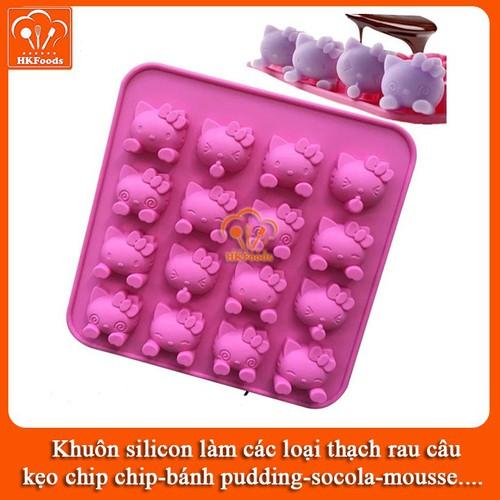 Khuôn silicon làm các loại thạch rau câu,kẹo chip chip, bánh pudding, socola, mousse - mẫu mèo hello kitty biểu cảm - 8863658 , 18018088 , 15_18018088 , 38000 , Khuon-silicon-lam-cac-loai-thach-rau-caukeo-chip-chip-banh-pudding-socola-mousse-mau-meo-hello-kitty-bieu-cam-15_18018088 , sendo.vn , Khuôn silicon làm các loại thạch rau câu,kẹo chip chip, bánh pudding, so