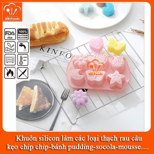 Khuôn silicon làm các loại thạch rau câu,kẹo chip chip, bánh pudding, socola, mousse - mẫu trăng ,sao,tim,bướm,hoa,cánh cam - 4780222 , 18029104 , 15_18029104 , 30000 , Khuon-silicon-lam-cac-loai-thach-rau-caukeo-chip-chip-banh-pudding-socola-mousse-mau-trang-saotimbuomhoacanh-cam-15_18029104 , sendo.vn , Khuôn silicon làm các loại thạch rau câu,kẹo chip chip, bánh pudding,