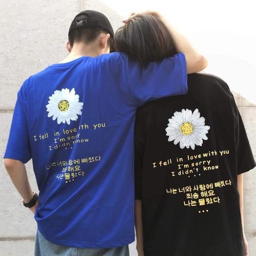 Áo Thun Tay Lỡ Hoa cúc Hàn Fom Rộng Hình thật Dành Cho Nam Và nữ dáng unisex phong cách hàn quốc -Sập Sàn giá rẻ - 8878568 , 18040897 , 15_18040897 , 100000 , Ao-Thun-Tay-Lo-Hoa-cuc-Han-Fom-Rong-Hinh-that-Danh-Cho-Nam-Va-nu-dang-unisex-phong-cach-han-quoc-Sap-San-gia-re-15_18040897 , sendo.vn , Áo Thun Tay Lỡ Hoa cúc Hàn Fom Rộng Hình thật Dành Cho Nam Và nữ dáng
