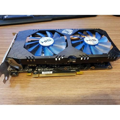 Card màn hình HIS RX 470 IceQX 4GB như hình