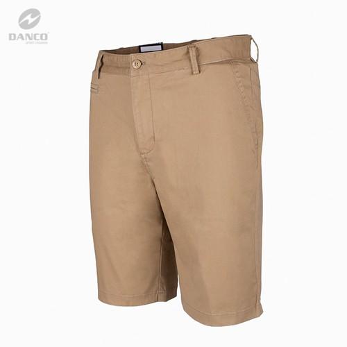 Quần Short  Kaki Nam  Danco Cao Cấp Màu Vàng  QS0419-1021