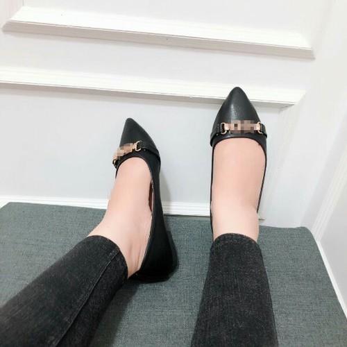 giày bít xẹp mũi nhọn - 8873732 , 18033410 , 15_18033410 , 255000 , giay-bit-xep-mui-nhon-15_18033410 , sendo.vn , giày bít xẹp mũi nhọn