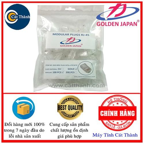 Túi hạt mạng 100 đầu RJ45 Golden Japan