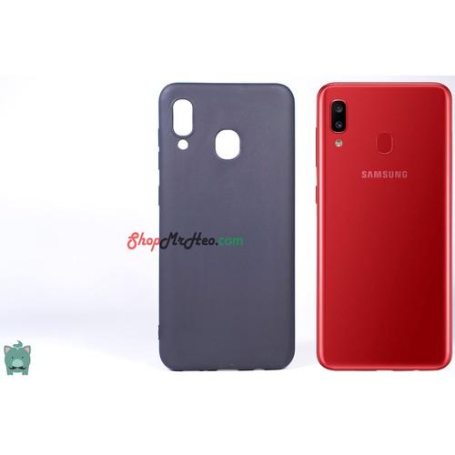 Ốp Lưng Dẻo Đen Nhám Samsung Galaxy A20