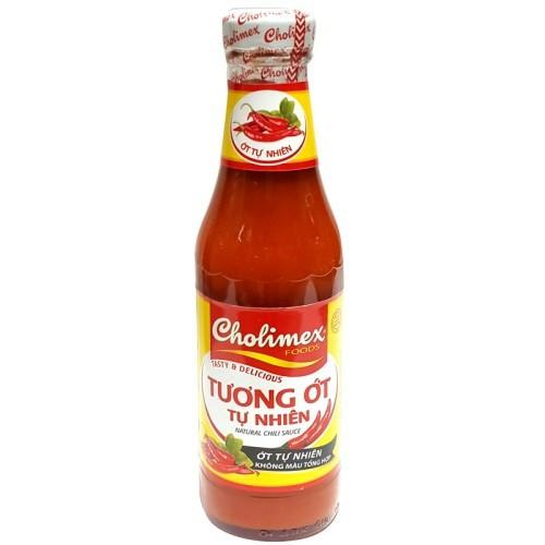 Tương ớt tự nhiên Cholimex chai 330g