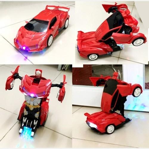 Đồ chơi ô tô biến hình robot