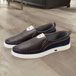 giày lười vải G344 MĐ | giày lười nam | giày lười | giày lười da