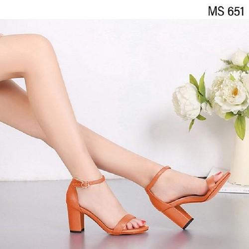 Giày sandal cao gót 7cm