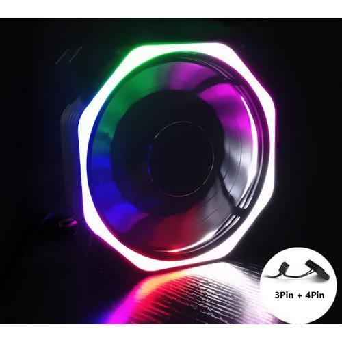 Quạt Tản Nhiệt, Fan Case 12cm Coolmoon Ver 8.1 Led RGB - Không Cần Hub - 11646721 , 18038286 , 15_18038286 , 55000 , Quat-Tan-Nhiet-Fan-Case-12cm-Coolmoon-Ver-8.1-Led-RGB-Khong-Can-Hub-15_18038286 , sendo.vn , Quạt Tản Nhiệt, Fan Case 12cm Coolmoon Ver 8.1 Led RGB - Không Cần Hub
