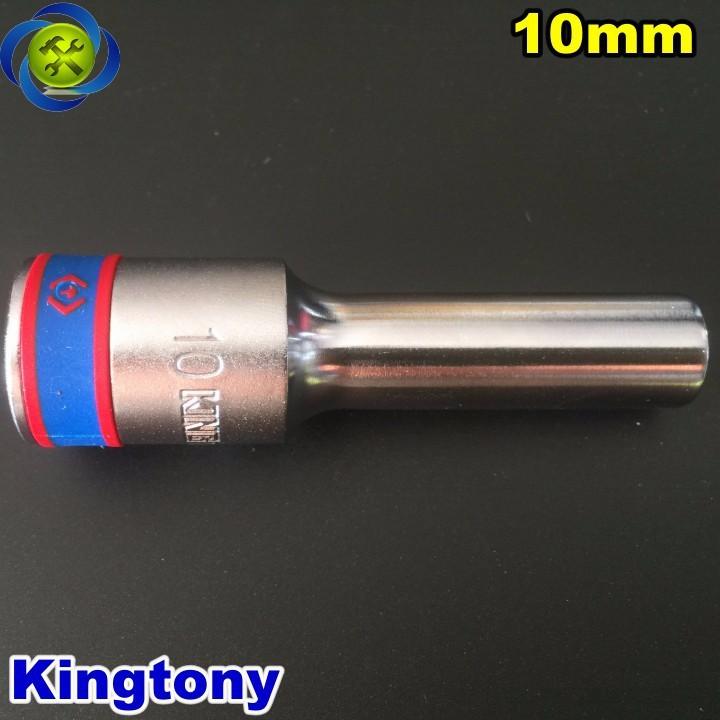 Tuýp trắng dài 10mm Kingtony 423510M 1 phần 2 loại 6 cạnh 1