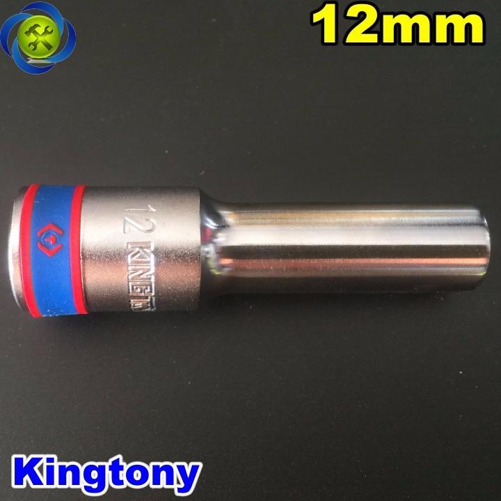 Tuýp trắng dài 12mm Kingtony 423512M 1 phần 2 loại 6 cạnh 1