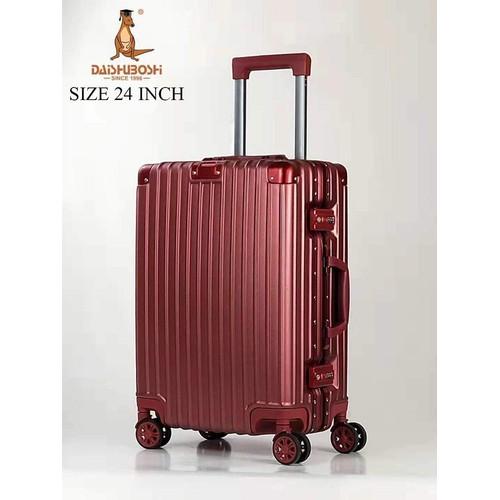 Vali Daishu Boshi 033 Size 24 Inch Đỏ Mận - Hạng Cao Cấp