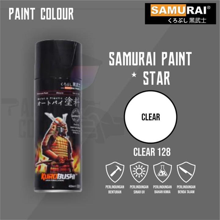 128 _ Chai Sơn Xịt Sơn Xe Máy Samurai 128 sơn màu trong _ CLEAR _ shop uy tín, giao nha 3