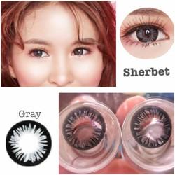 contact lens - kính áp tròng màu xám sherbet
