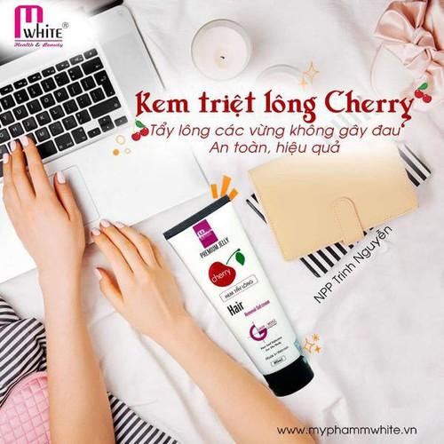 Kem Triệt Lông Cherry Mwhite