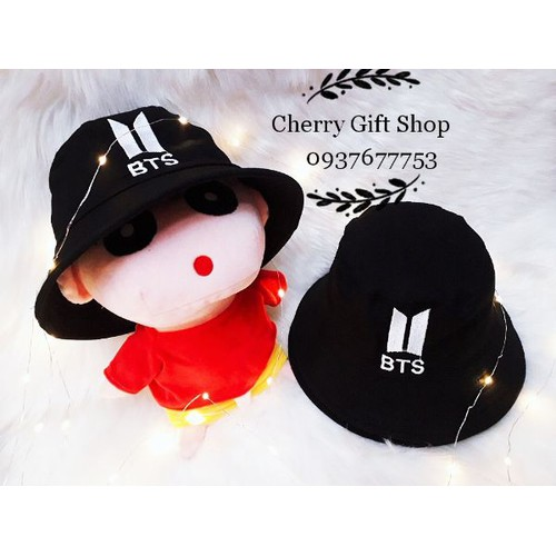 Nón Bucket  BTS Mũ Nón BTS Nón Phong Cách Hàn Quốc