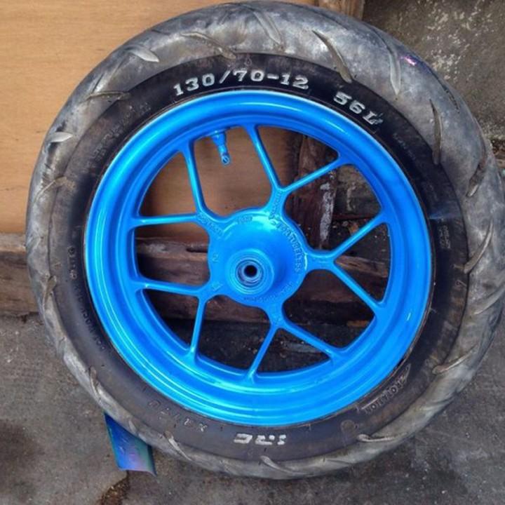 58 _ Chai Sơn Xịt Sơn Xe Máy Samurai 58 sơn màu xanh dương huỳnh quang _ Fluorescen Blue _ shop uy tín, giao nha 7