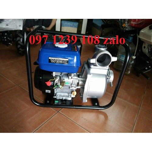 Máy bơm nước ZongShen WG30, động cơ 5,5HP, hút sâu, cực khỏe, giá rẻ nhất thị trường