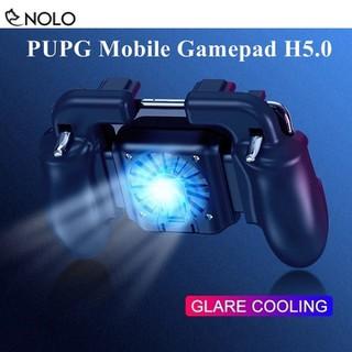 Tay Cầm Chơi Game PUBG ROS H5.0 Có Led Quạt Tản Nhiệt Cho Điện Thoại 5-6.5 Inch - taygaemcoquatledh5.0 thumbnail