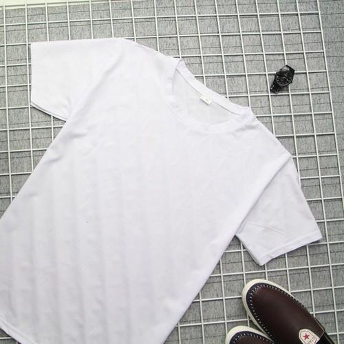 Áo thun nam trắng cổ tròn vải dày đẹp TS176 Tronshop | áo thun nam | áo nam