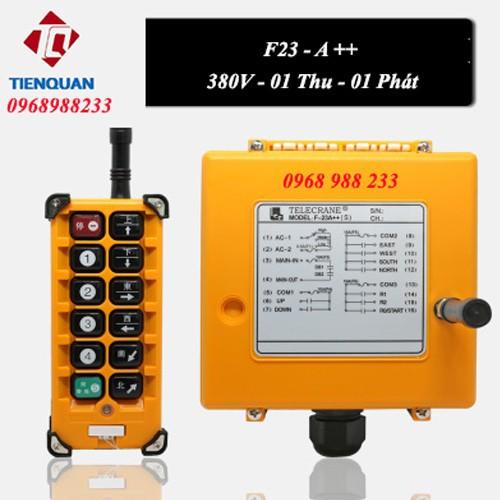 Bộ Điều khiển cầu trục cần trục cẩu trục từ xa Telecrane F23-A++