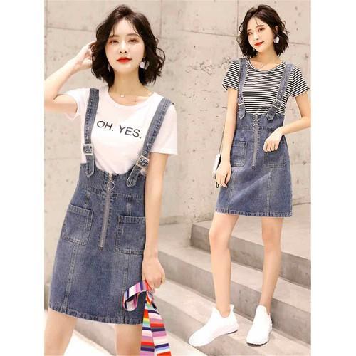 Set váy jean nữ cao cấp kiểu dáng trẻ trung phong cách - 8883201 , 18047810 , 15_18047810 , 360000 , Set-vay-jean-nu-cao-cap-kieu-dang-tre-trung-phong-cach-15_18047810 , sendo.vn , Set váy jean nữ cao cấp kiểu dáng trẻ trung phong cách