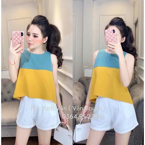 set áo kiểu quần short nữ - 4979436 , 18051924 , 15_18051924 , 165000 , set-ao-kieu-quan-short-nu-15_18051924 , sendo.vn , set áo kiểu quần short nữ