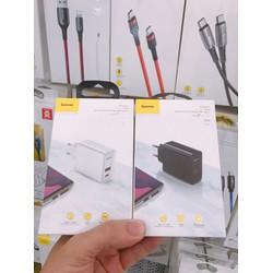 Củ sạc nhanh Baseus Speed PPS Quick charger 4.0 3.0 30W USB + Type C