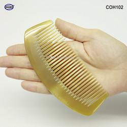 Lược sừng xuất Nhật -Size: M - 13cm - Lược múi bưởi chăm sóc tóc - Hahanco