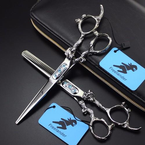 Cặp kéo cắt tóc Nhật bản Freelander Snake đá xanh cao cấp - 8890630 , 18059143 , 15_18059143 , 1000000 , Cap-keo-cat-toc-Nhat-ban-Freelander-Snake-da-xanh-cao-cap-15_18059143 , sendo.vn , Cặp kéo cắt tóc Nhật bản Freelander Snake đá xanh cao cấp