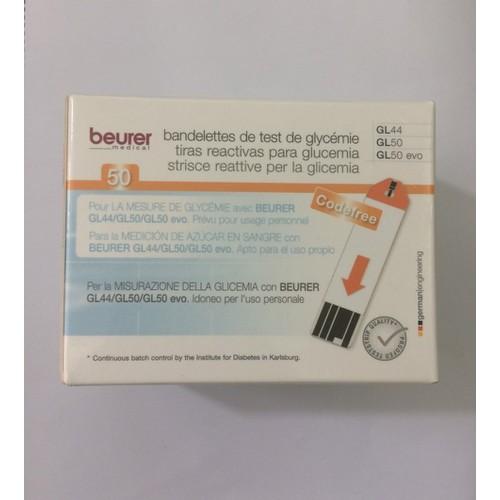 Que thử đường huyết Beurer GL50. hộp 50