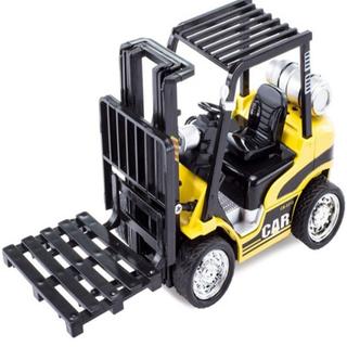 Xe nâng hàng mini có đèn và âm thanh Đồ chơi trẻ em - Loai giá nâng xe chạy bằng cót - NANGMINI thumbnail