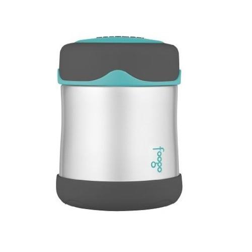Hộp giữ nhiệt đựng thức ăn Thermos FOOGO Stainless Steel Food Jar, Charcoal Teal - 300 ml