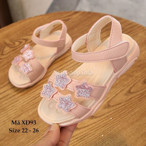 Giày sandal cho bé gái 1 - 3 tuổi XD93 - 8893581 , 18063502 , 15_18063502 , 289000 , Giay-sandal-cho-be-gai-1-3-tuoi-XD93-15_18063502 , sendo.vn , Giày sandal cho bé gái 1 - 3 tuổi XD93